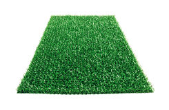 Plastic carpet isolated Stock Photography