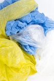 Plastic carrier bags Stock Images