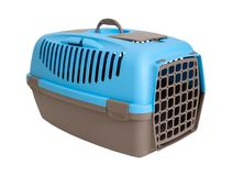 Plastic Carrying For Animals Royalty Free Stock Images