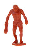 Plastic caveman toy Stock Photo