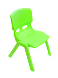 Plastic chair for children Royalty Free Stock Images