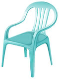 A plastic chair furniture Stock Images