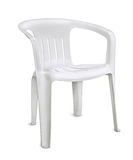 Plastic chair Royalty Free Stock Photography