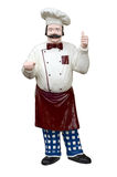 Plastic Chef Royalty Free Stock Photo