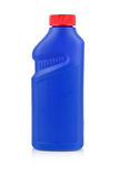 Plastic chemical bottle isolated on white Stock Photo