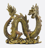 Plastic Chinese dragon Royalty Free Stock Images