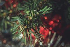 Plastic Christmas tree Stock Photography