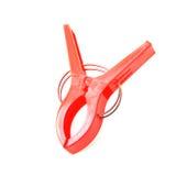 Plastic clamp Stock Images
