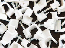 Plastic Clamp Stock Image
