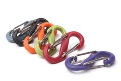 Plastic clasps Stock Images