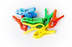 Plastic clip Stock Photos