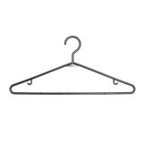 Plastic clothes hanger Royalty Free Stock Photo