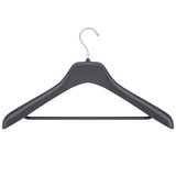 Plastic clothes hanger Stock Photography