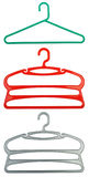 Plastic clothes hanger Royalty Free Stock Photos