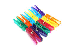 Free Plastic Clothes Pegs Stock Photos - 13515823