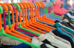 Plastic Coat hanger Stock Image