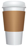 Plastic Coffee Cup Royalty Free Stock Photos