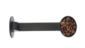 Plastic coffee tamper isolated Royalty Free Stock Photos