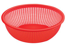 Plastic colander Stock Photos