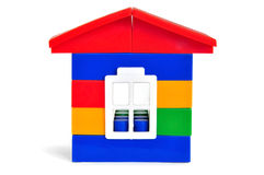 Plastic color small house Royalty Free Stock Photo
