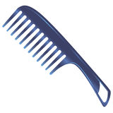 Plastic comb Royalty Free Stock Photo