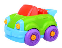 Plastic constructor car Royalty Free Stock Photography