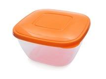 Plastic container Royalty-vrije Stock Foto