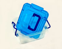 Plastic container Stock Image