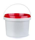 Plastic container Stock Afbeelding