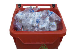 Plastic container Stock Photo