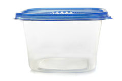 Plastic container for food Royalty Free Stock Photo
