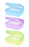 Plastic container for  food Royalty Free Stock Images