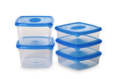 Plastic container for Food Royalty Free Stock Image