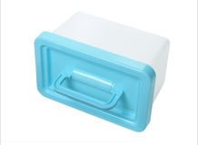 Plastic Container With Handle Royalty Free Stock Photography