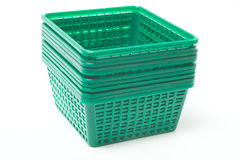 Plastic containers Royalty Free Stock Images