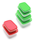 Plastic Containers Stock Images