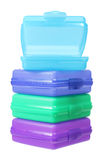 Plastic Containers Royalty Free Stock Photography