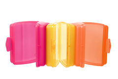 Plastic Containers Royalty Free Stock Photo