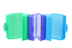 Plastic Containers Royalty Free Stock Image