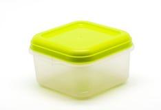 Plastic containers voor voedsel Stock Afbeeldingen