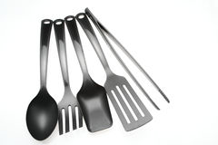 Plastic Cooking Utensils Stock Photos