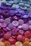 Plastic Craft Buttons Stock Image