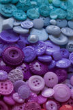 Plastic Craft Buttons Royalty Free Stock Photos