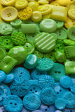 Plastic Craft Buttons Royalty Free Stock Image