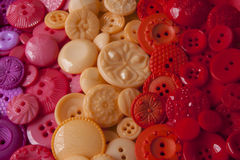 Plastic Craft Buttons Stock Photos