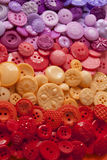 Plastic Craft Buttons Stock Photo