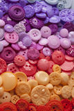 Plastic Craft Buttons Royalty Free Stock Photo