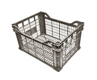 Plastic crate Royalty Free Stock Photography