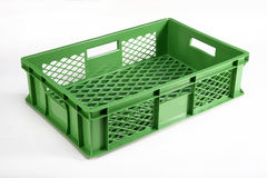 Plastic crate Royalty Free Stock Images