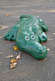 Plastic crocodile Stock Image